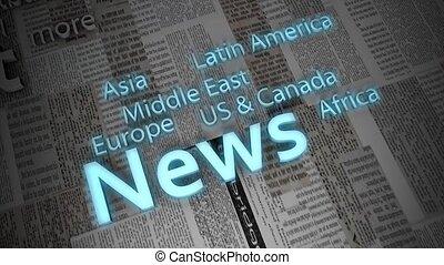 nouvelles, titres