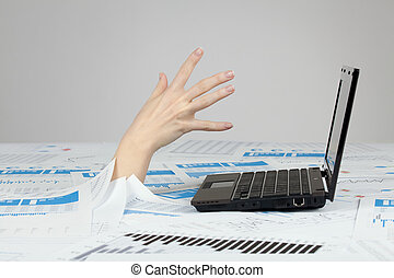 noyade, paperasserie, bureaucratie, -