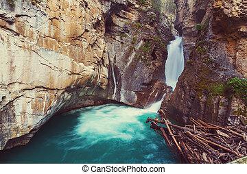 np, canyon, banff