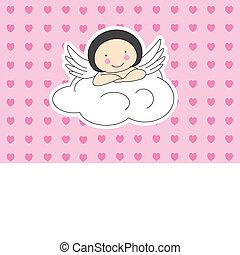 nuage, ailes ange