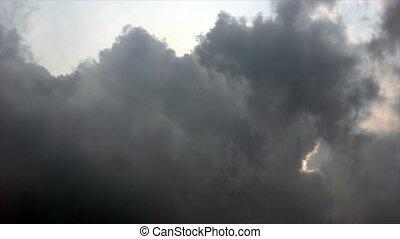 nuage, défaillance, orage, /, temps