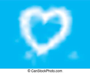 nuage, loving-heart