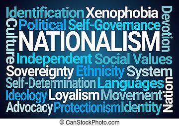 nuage, mot, nationalisme