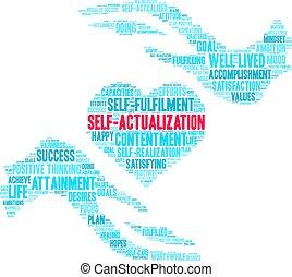 nuage, self-actualization, mot