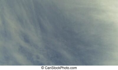 nuages, défaillance, ciel, temps