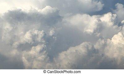 nuages, défaillance, -, orage, temps