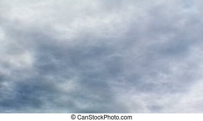 nuages, seamless, orage, boucle