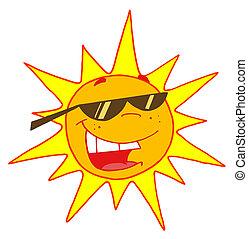 nuances port, soleil, été