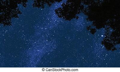 nuit, 1, étoiles