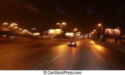 nuit, conduite
