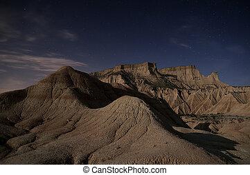 nuit désertique