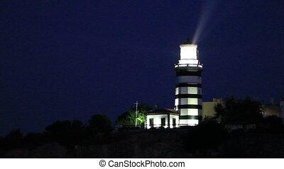 nuit, phare