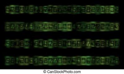 numérique, nombre, fond, matrice, informatique, groupe