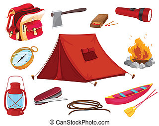 objets, divers, camping