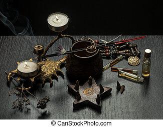 objets, vie, encore, magie