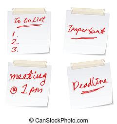 occupé, bureau affaires, concepts