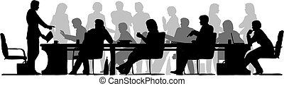 occupé, réunion