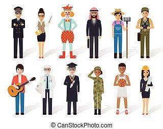 occupation, gens, profession