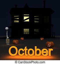 octobre, stickman