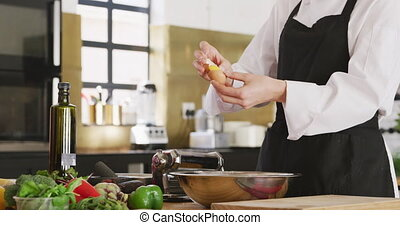 oeuf, chef cuistot, rupture