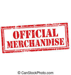 officiel, merchandise-stamp