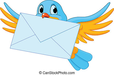oiseau, lettre