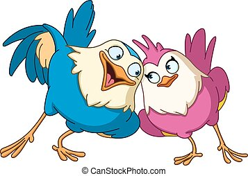 oiseaux, aimer