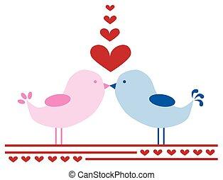 oiseaux, amour