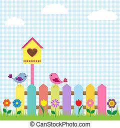 oiseaux, birdhouse