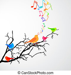 oiseaux, chant