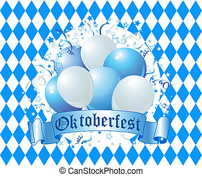 oktoberfest, ballons célébration