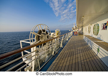 onboard, croisière bateau