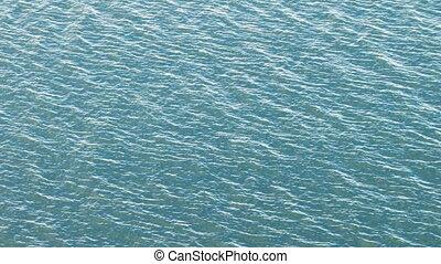 ondulation, 1, eaux, baie, vagues
