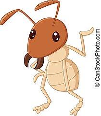 onduler, termite, dessin animé