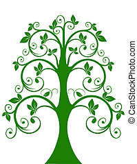 openwork, arbre