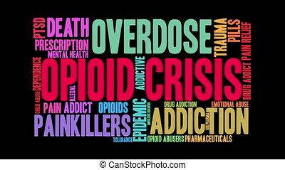 opioid, nuage, crise, mot