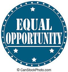 opportunity-label, égal