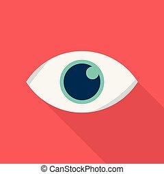 optimization, beaucoup, icône, usage, plat, publicité, |, commercialisation, téléspectateur, more., ombre, ensemble, long, icônes, recherche, style, moteur, grand, internet