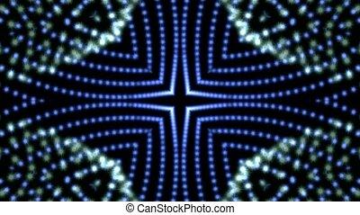optique, chaîne, lumières, fibre, bijouterie