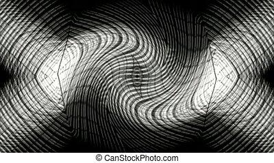 optique, tissage, fibre, fil, blanc