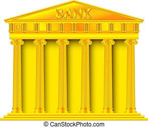 or, banque