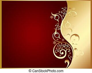 or, carte rouge, invitation