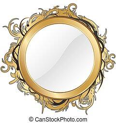 or, miroir