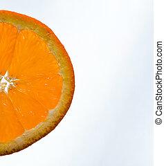 orange, cale