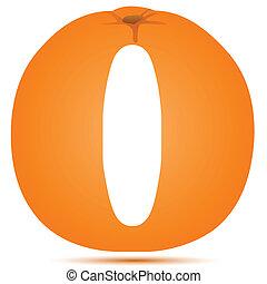 orange, juteux