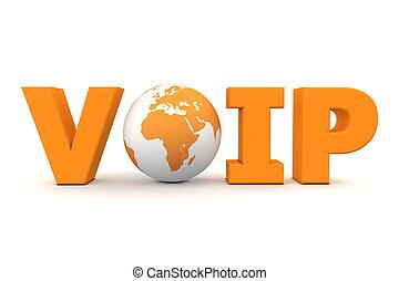 orange, mondiale, voip