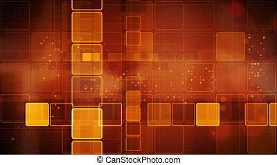 orange, résumé, loopable, fond