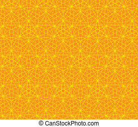 orange, résumé, vecteur, fond