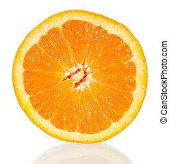 orange, section transversale