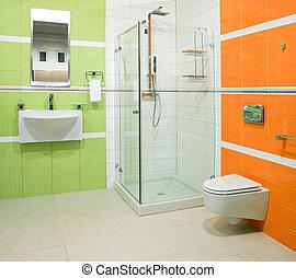 orange, vert